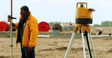 Mät och avvägningsinstrument laser