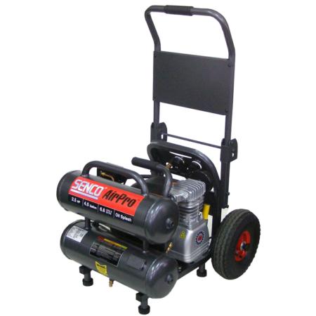 Kompressor <270l/min <20l tank på hjul