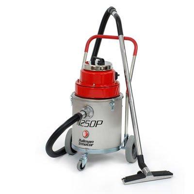 Våtsug m.pump < 30 l rostfri behållare