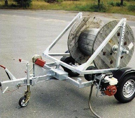 Kabeltrumvagn/duktvagn