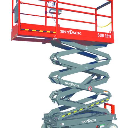 Saxlift 7,6 m arbetshöjd