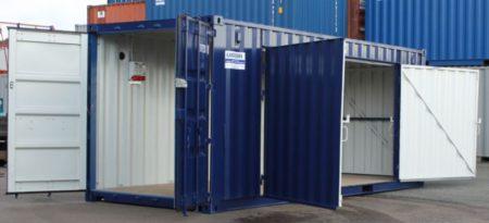 Sågcontainer 20Ù exkl. sågutrustning