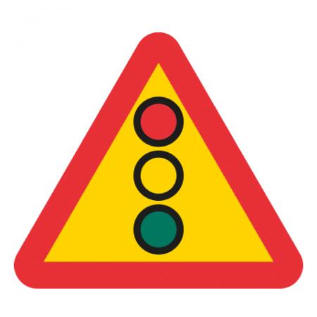 Varning för flerfärgssignal A22