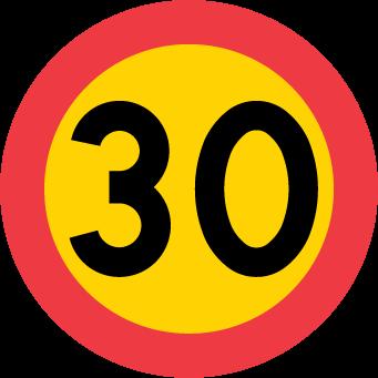Hastighetbegränsning C31-3